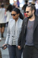ZOE SALDANA Out and About in Vancouver 06/27/2015