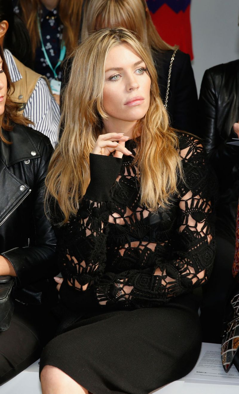 ABIGAIL ABBEY CLANCY at Sibling Fashion Show in London 09/19/2015