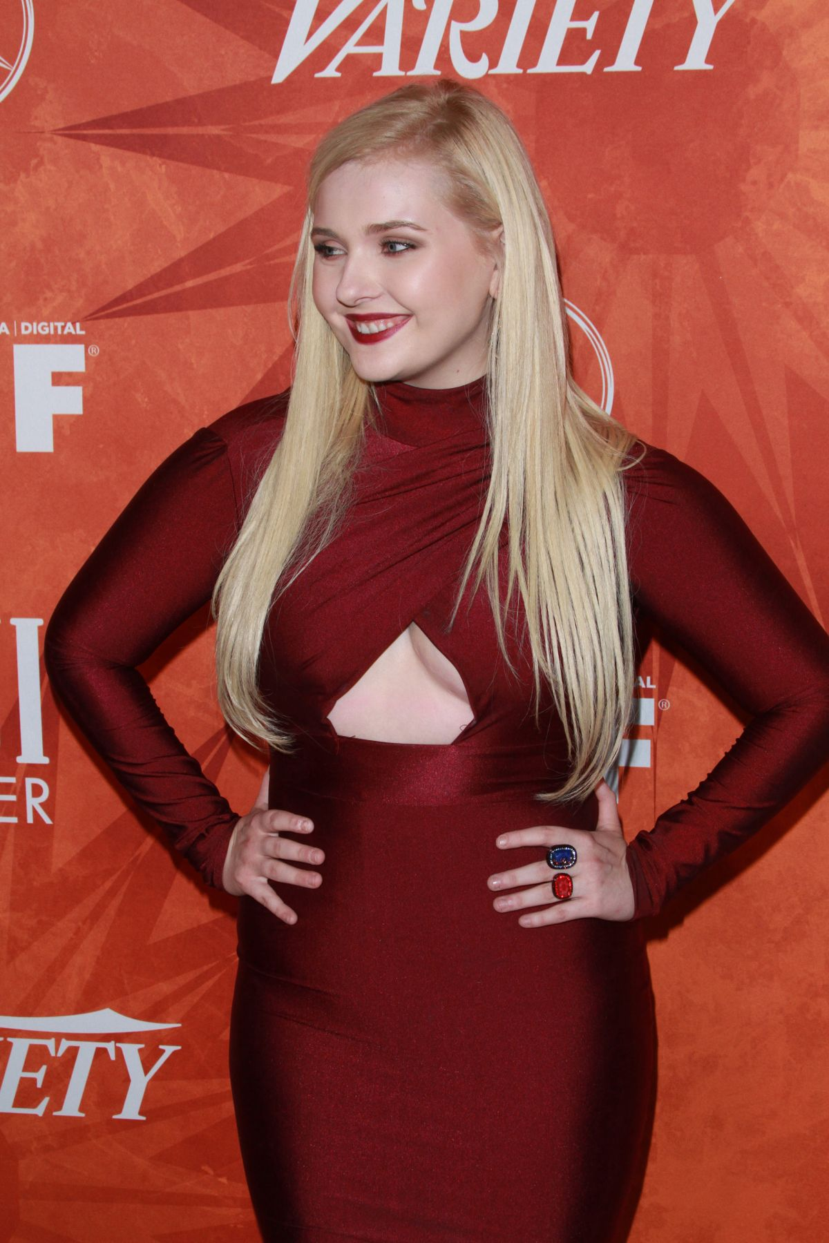 ABIGAIL BRESLIN at Variety and Women in Film Annual Pre-emmy Celebration in West Hollywood 09/18/20
