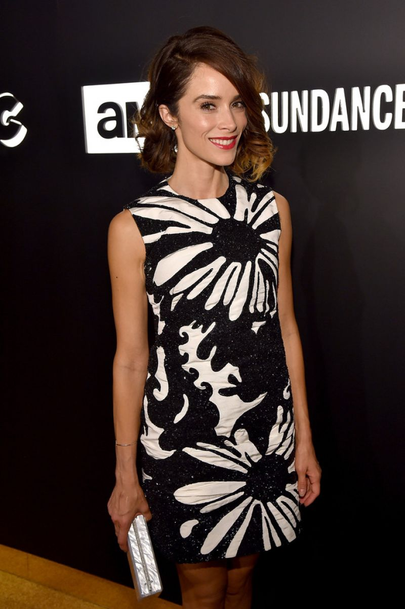 ABIGAIL SPENCER at Sundancetv Emmy After-party in Hollywood 09/20/2015