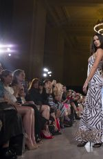ADRIANA LIMA and TONI GARRN at FTL Moda Fashion Show at NYFW 09/13/2015