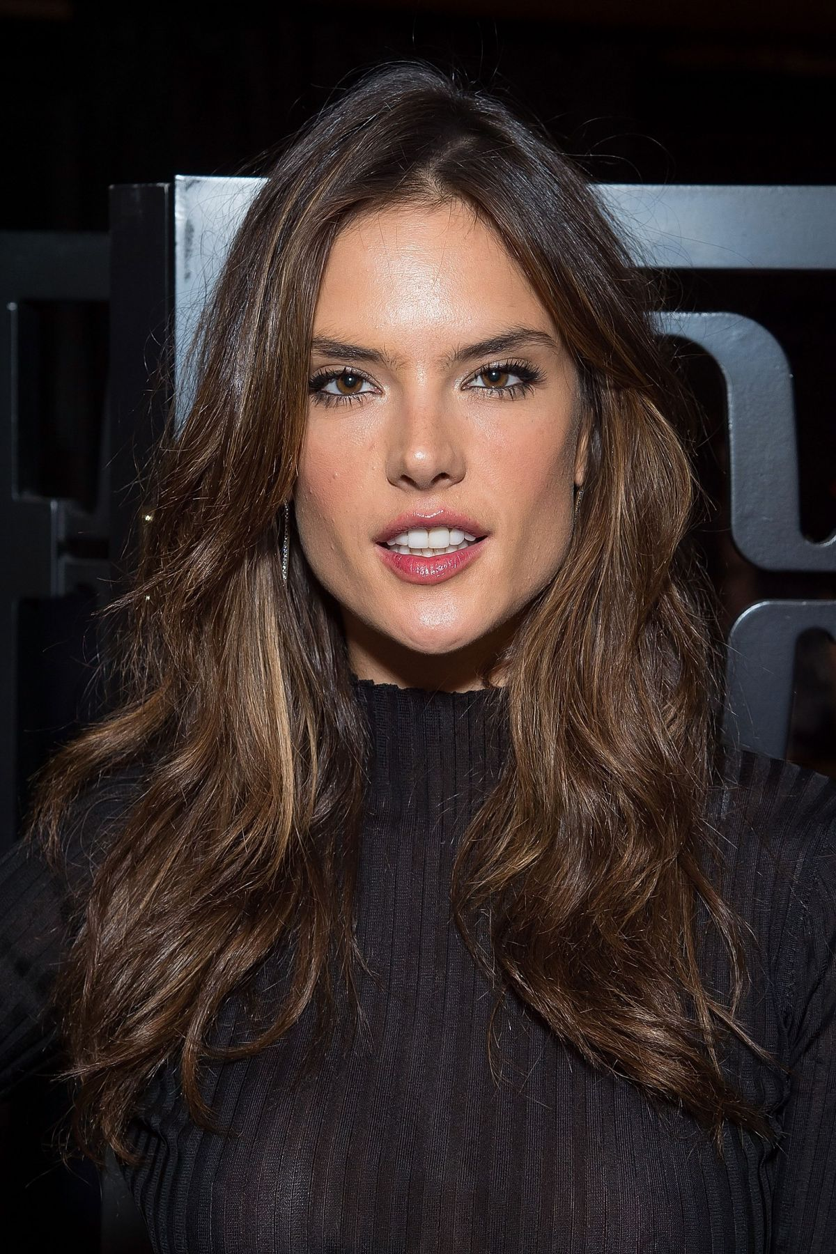 ALESSANDRA AMBROSIO at 2015 Brazilfoundation Cocktail Party in New ...
