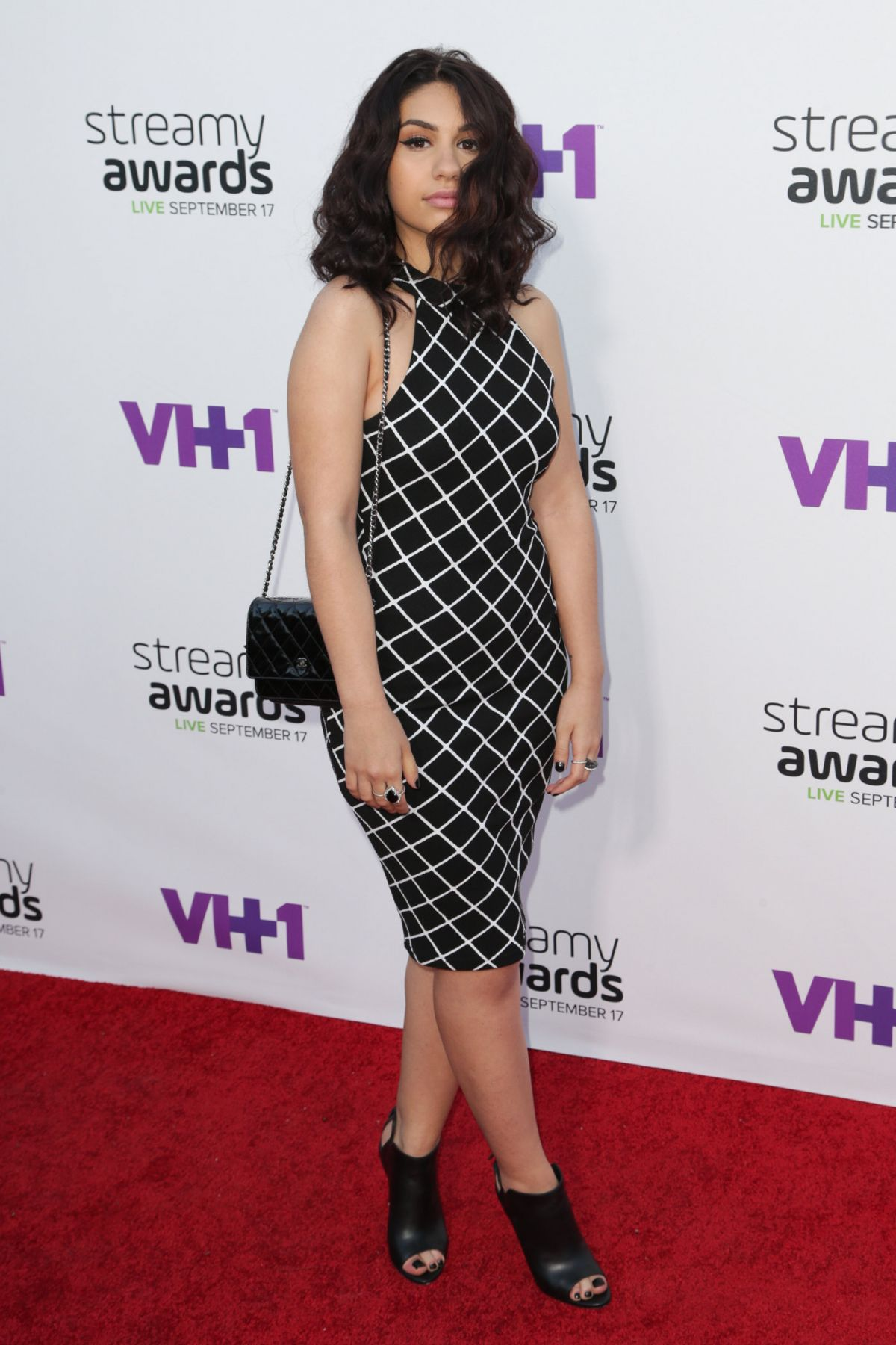 ALESSIA CARA at 2015 Streamy Awards in Los Angeles 09/17/2015