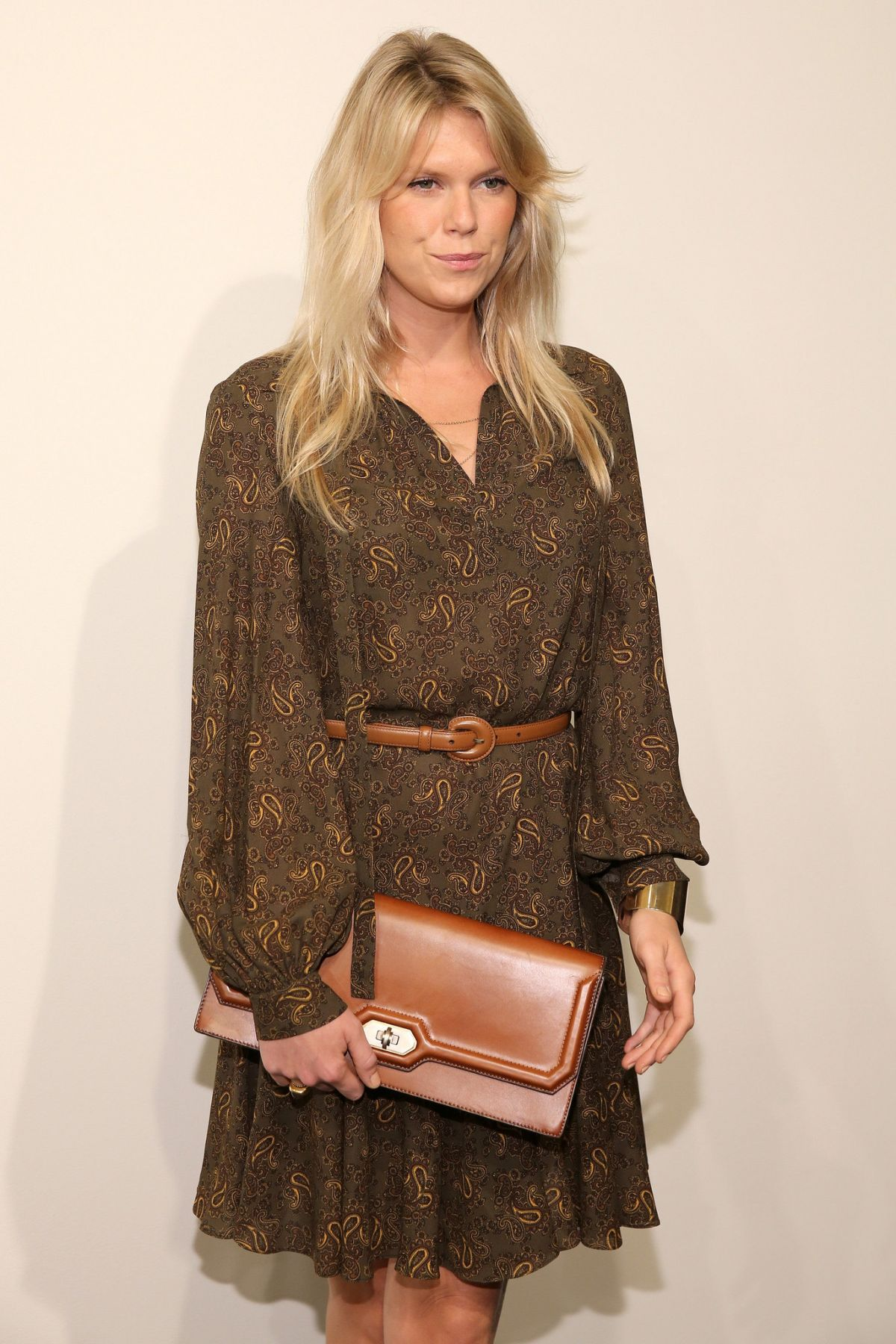 ALEXANDRA RICHARDS at Michael Kors Fashion Show at NYFW 09/16/2015