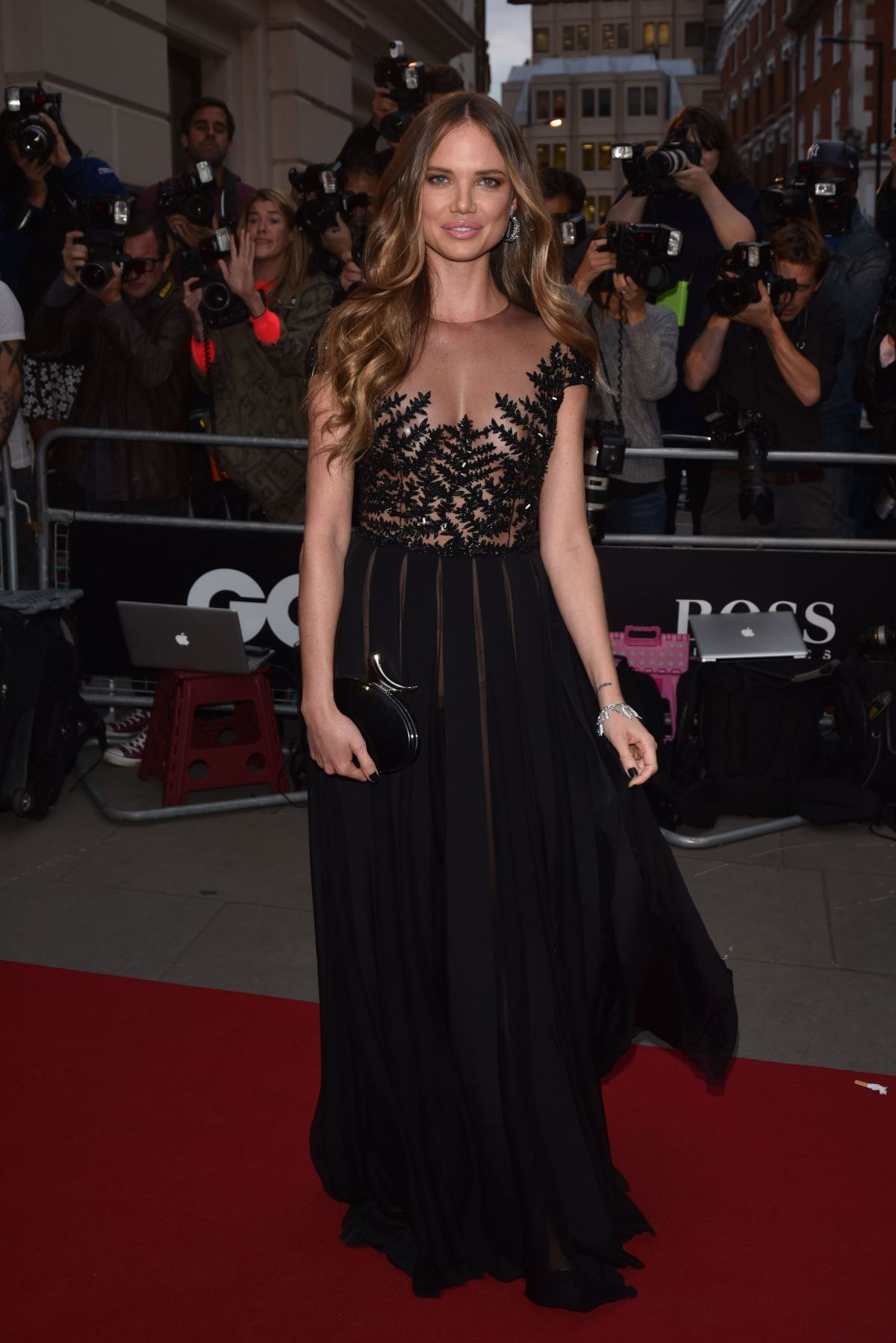 ALICIA ROUNTREE at GQ Men of the Year 2015 Awards in London