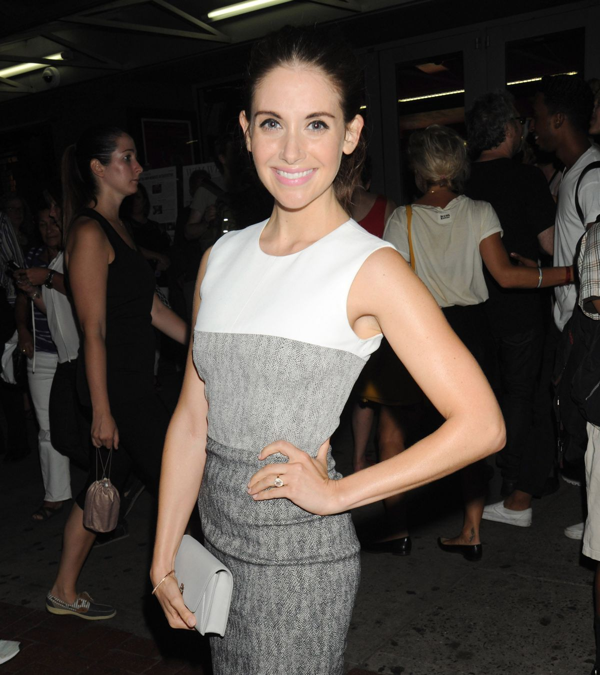 ALISON BRIE at Sleeping With Other People Screening in New York 09/01/2015