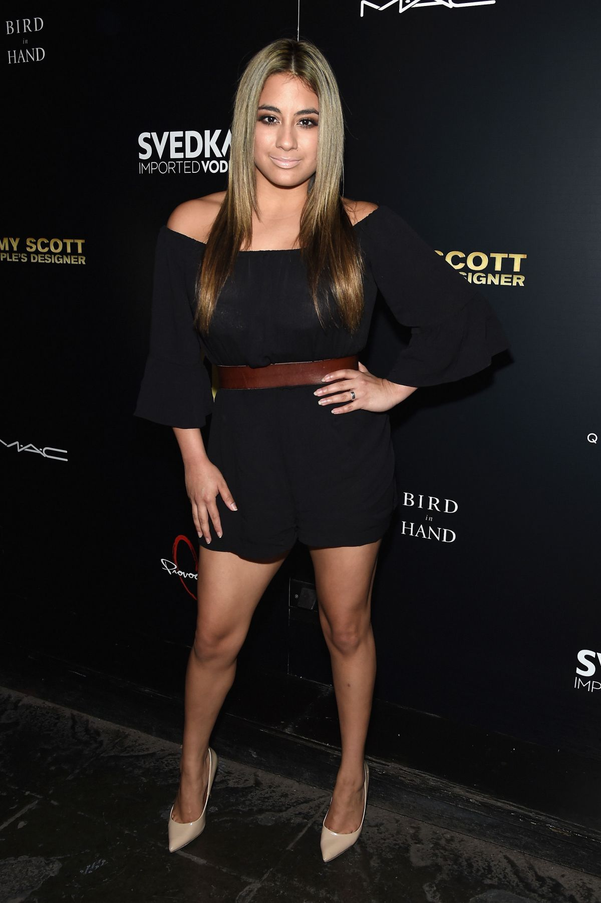 ALLY BROOKE at Jeremy Scott: The People's Designer Premiere in New York 09/15/2015