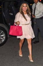 ALLY BROOKE Night Out in New York 09/16/2015