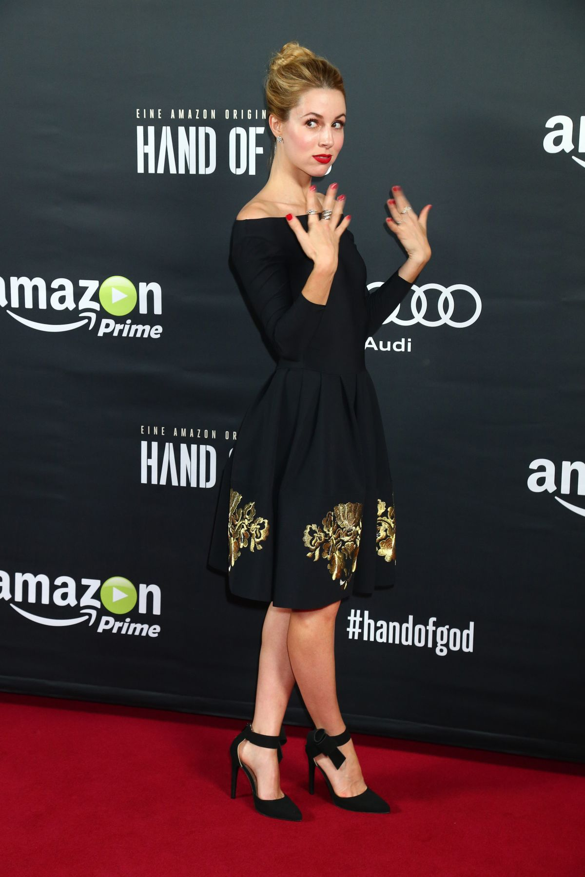 ALONA TAL at Hand of God Premiere in Berlin 08/31/2015