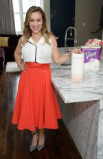 ALYSSA MILANO at Alyssa Milano Signature Designs by Viva Towels Launch in West Hollywood 09/01/2015