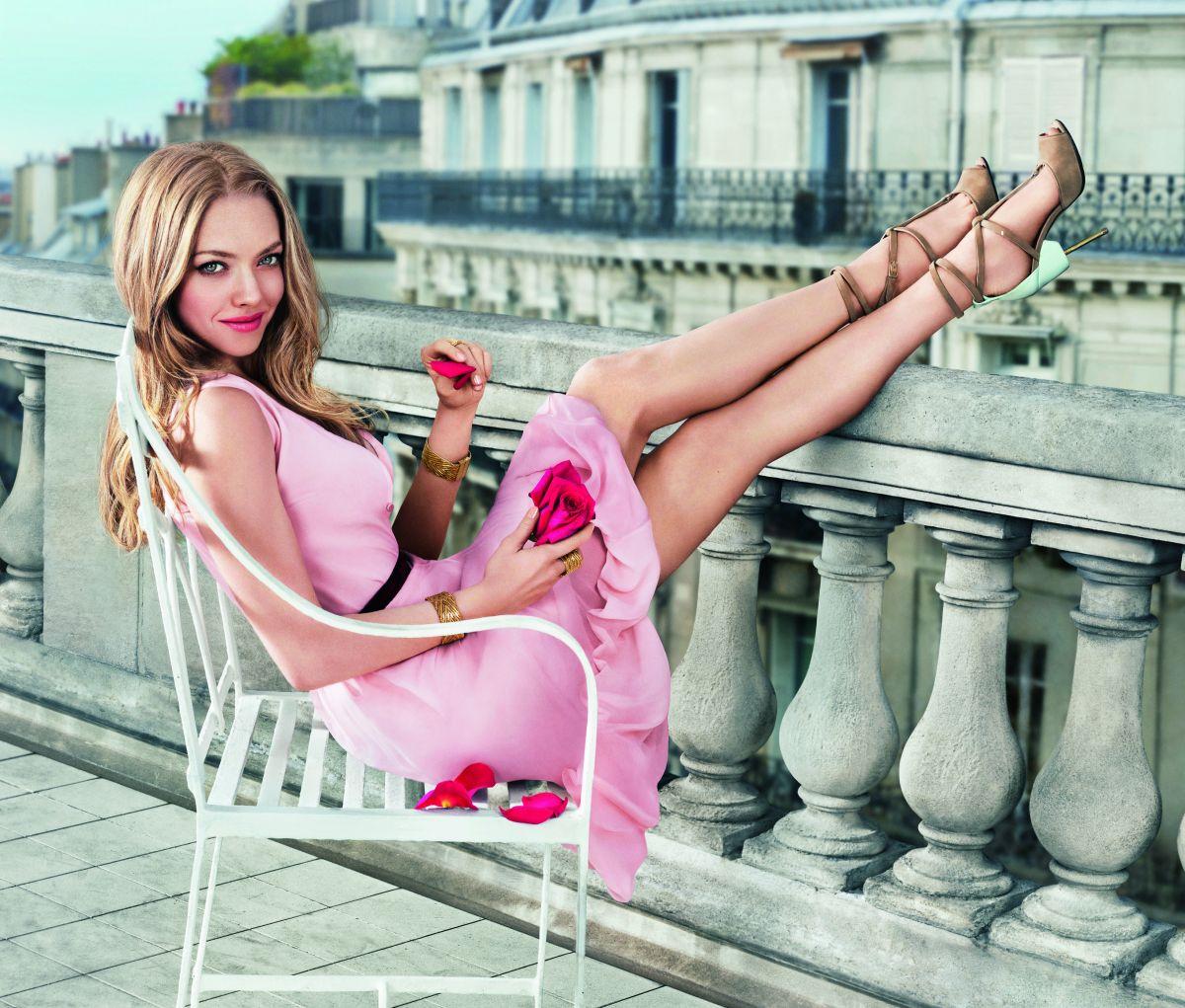 AMANA SEYFRIED - 2015 Givenchy Live Irresistible Fragrance Promos