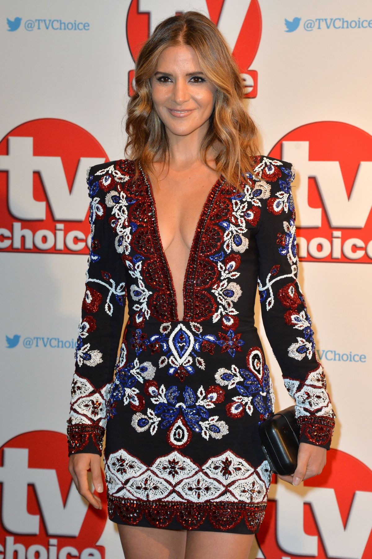 AMANDA BYRAM at TV Choice Awards 2015 in London