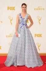 AMANDA CREW at 2015 Emmy Awards in Los Angeles 09/20/2015