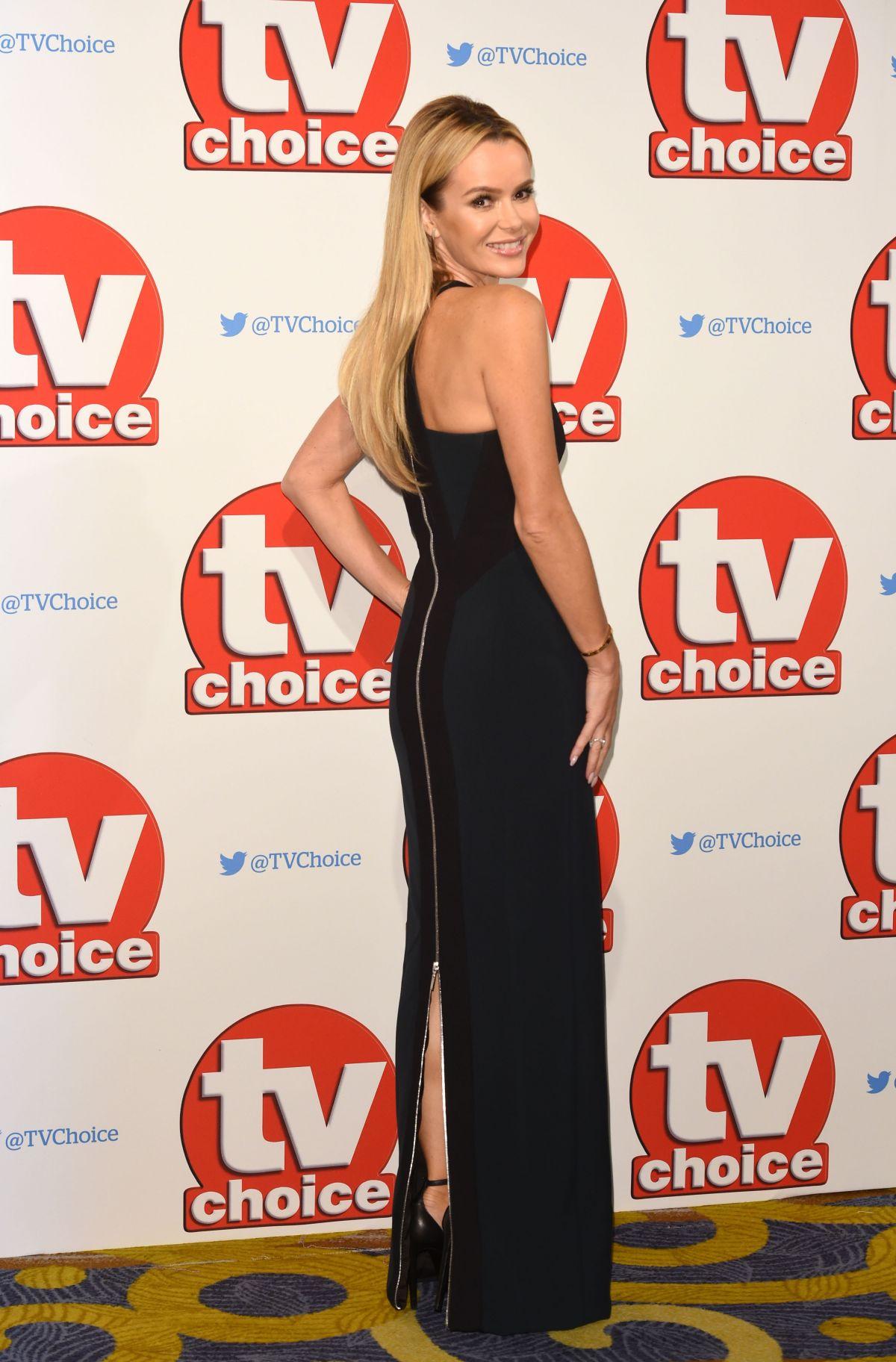 AMANDA HOLDEN at TV Choice Awards 2015 in London