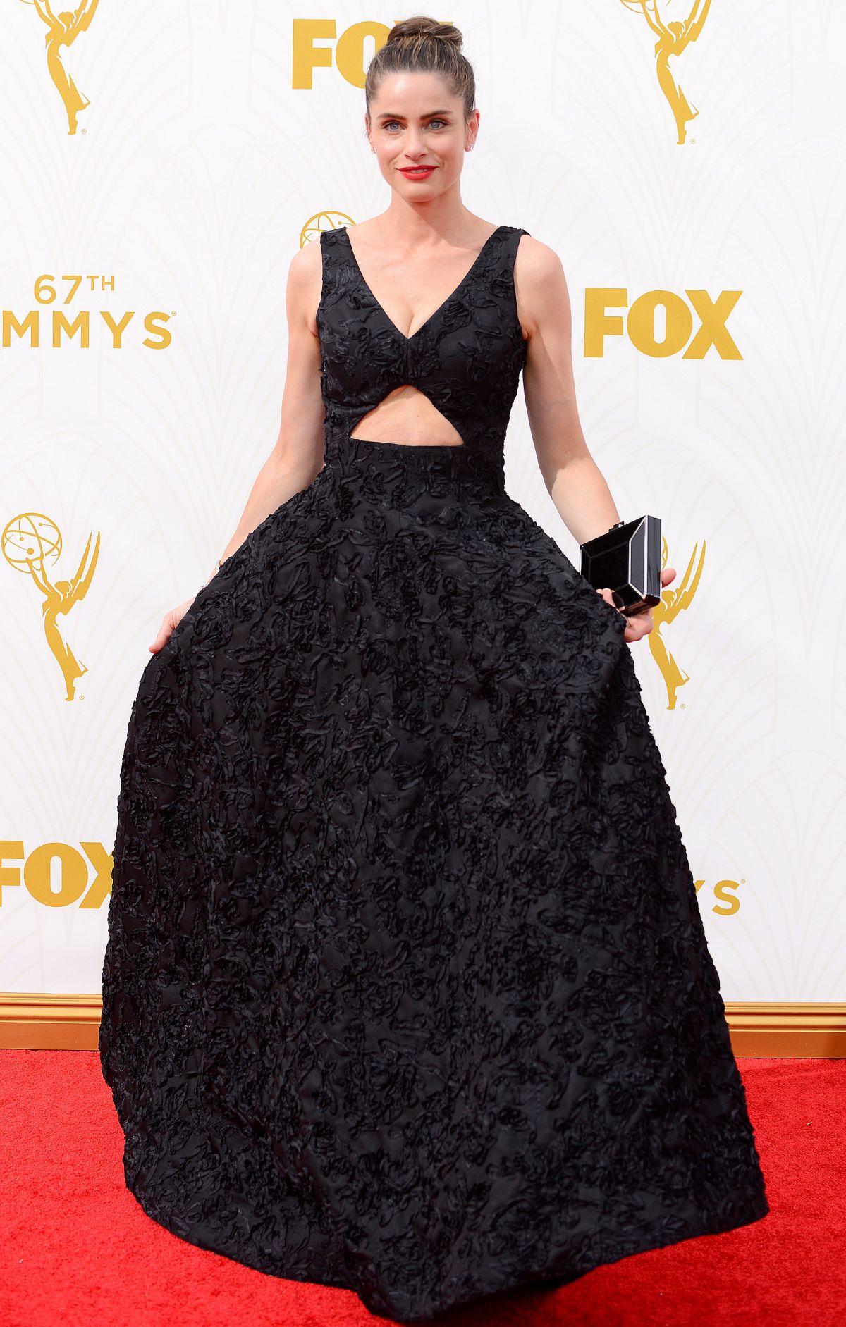 AMANDA PEET at 2015 Emmy Awards in Los Angeles 09/20/2015