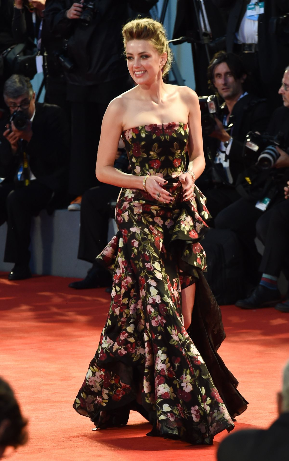 AMBER HEARD at The Danish Girl Premiere at 72nd Venice Film Festival 09/05/2015