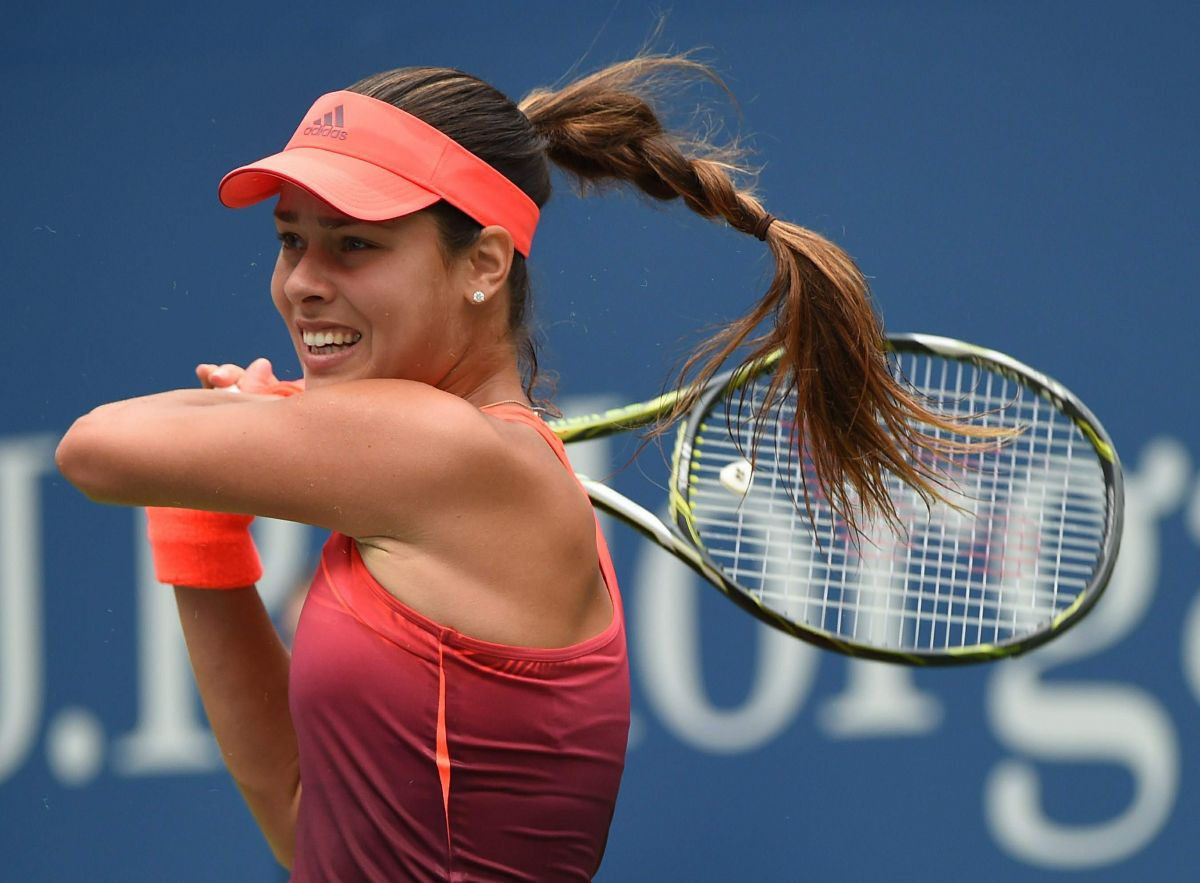 ANA IVANOVIC at 1st Round of US Open in New York 08/31/2015
