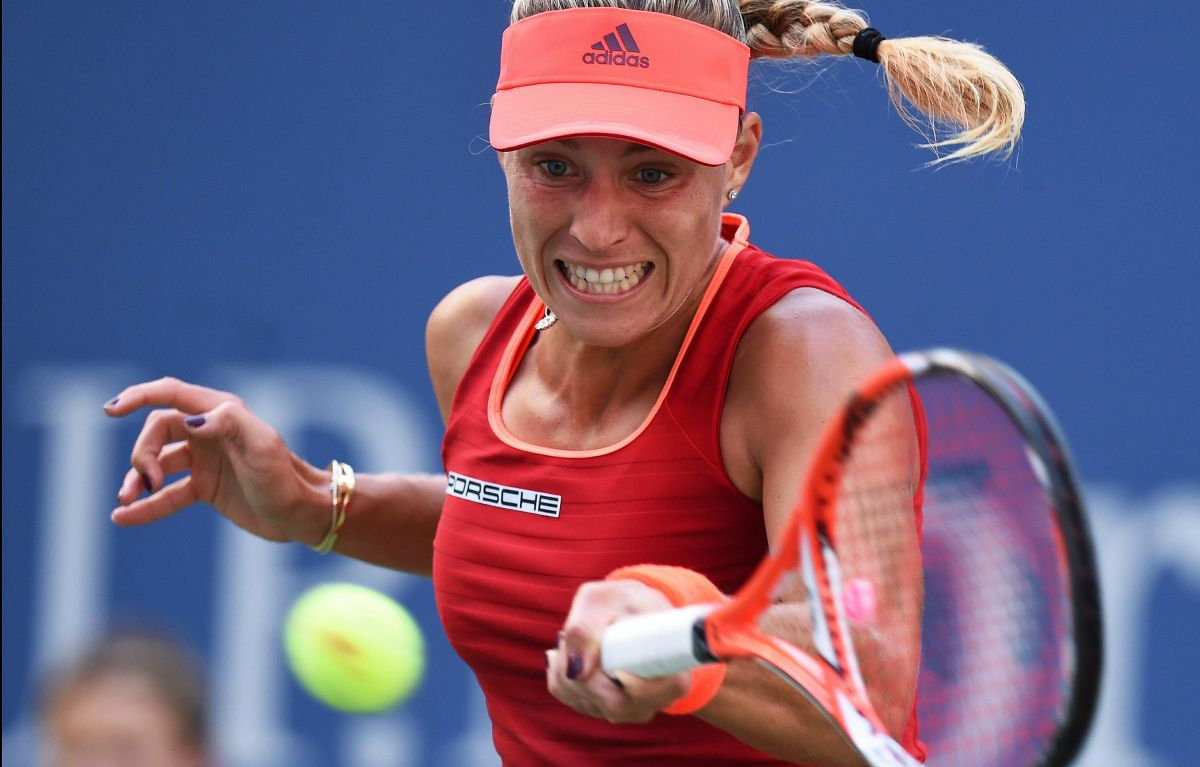 angelique kerber at 2015 us open in new york, day 6, 09/05/2015