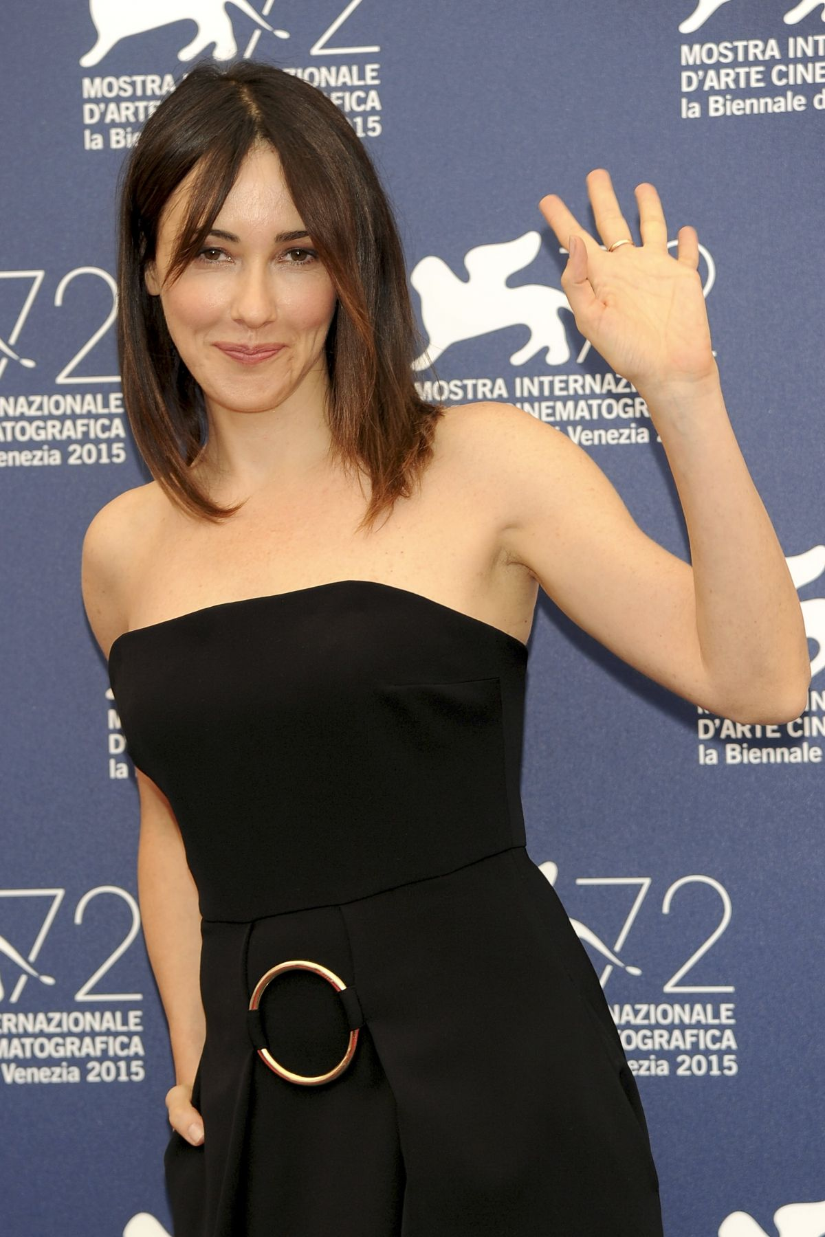 ANITA CAPRIOLI at Jury Photocall 72nd Venice Fil Festival 09/05/2015