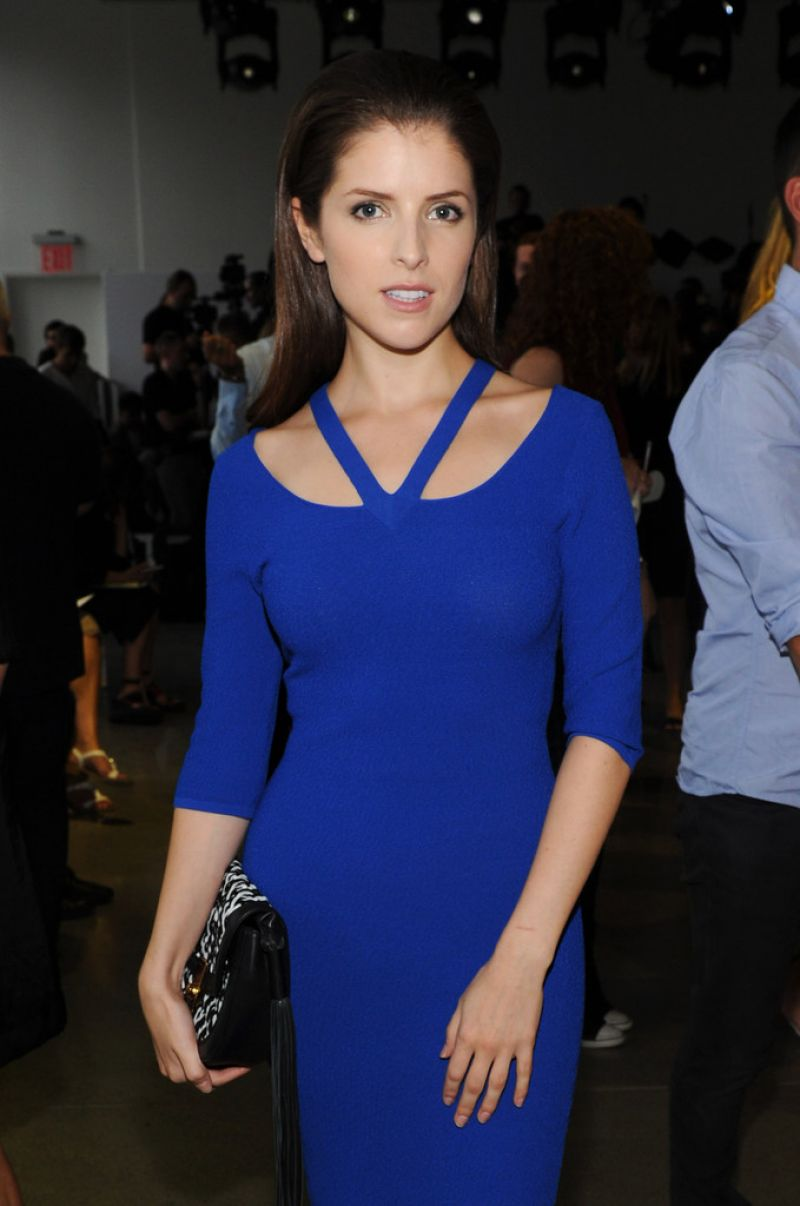 ANNA KENDRICK at Altuzarra Fashion Show at NYFW in New York 09/12/2015