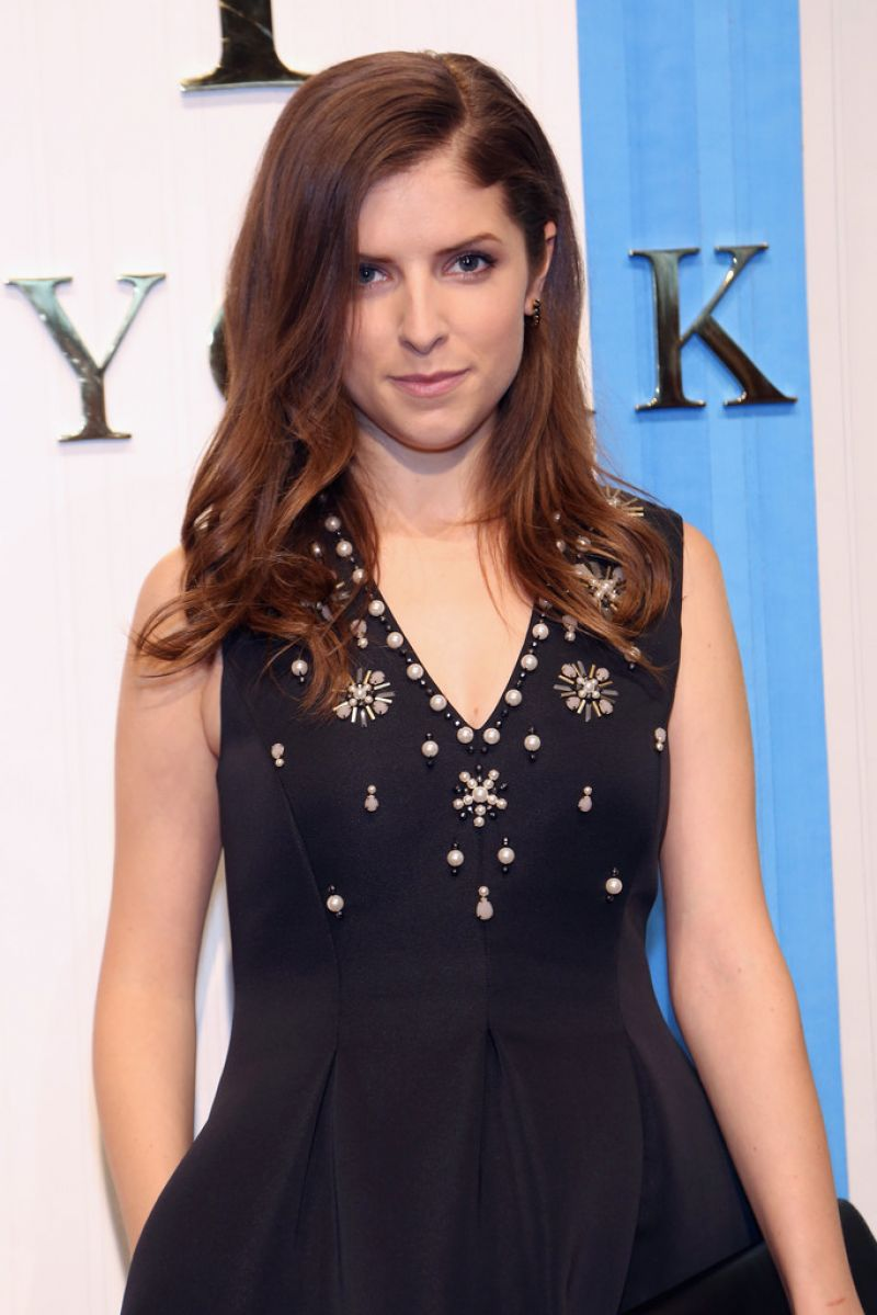 ANNA KENDRICK at Kate Spade New York Presentation 09/11/2015 ... Anna Kendrick