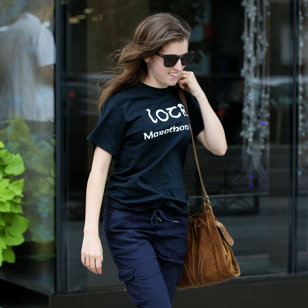ANNA KENDRICK Leaves Trump Soho Hotel in New York 09/09/2015