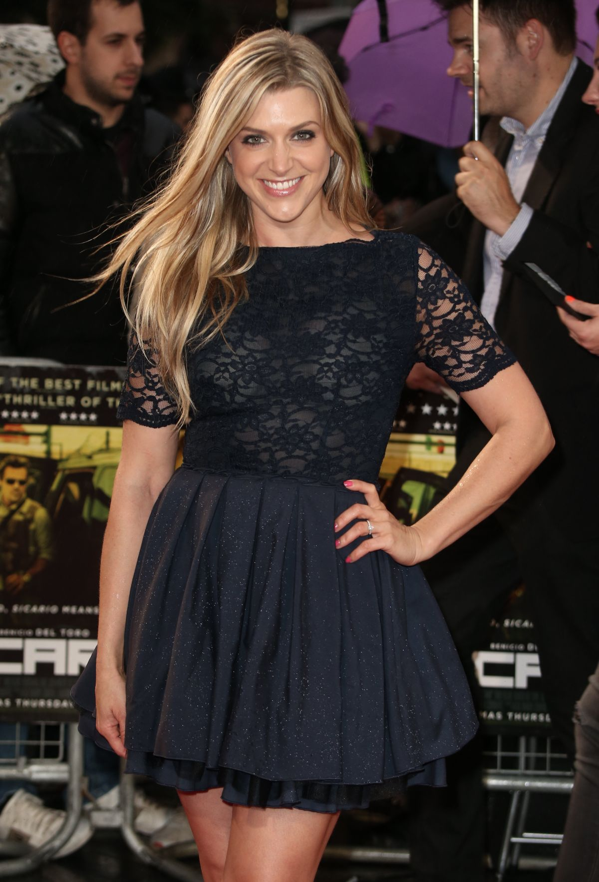 ANNA WILLIAMSON at Sicario Premiere in London 09/21/2015
