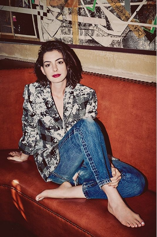 ANNE HATHAWAY for Refinery29 Magazine, September 2015 Issue ...