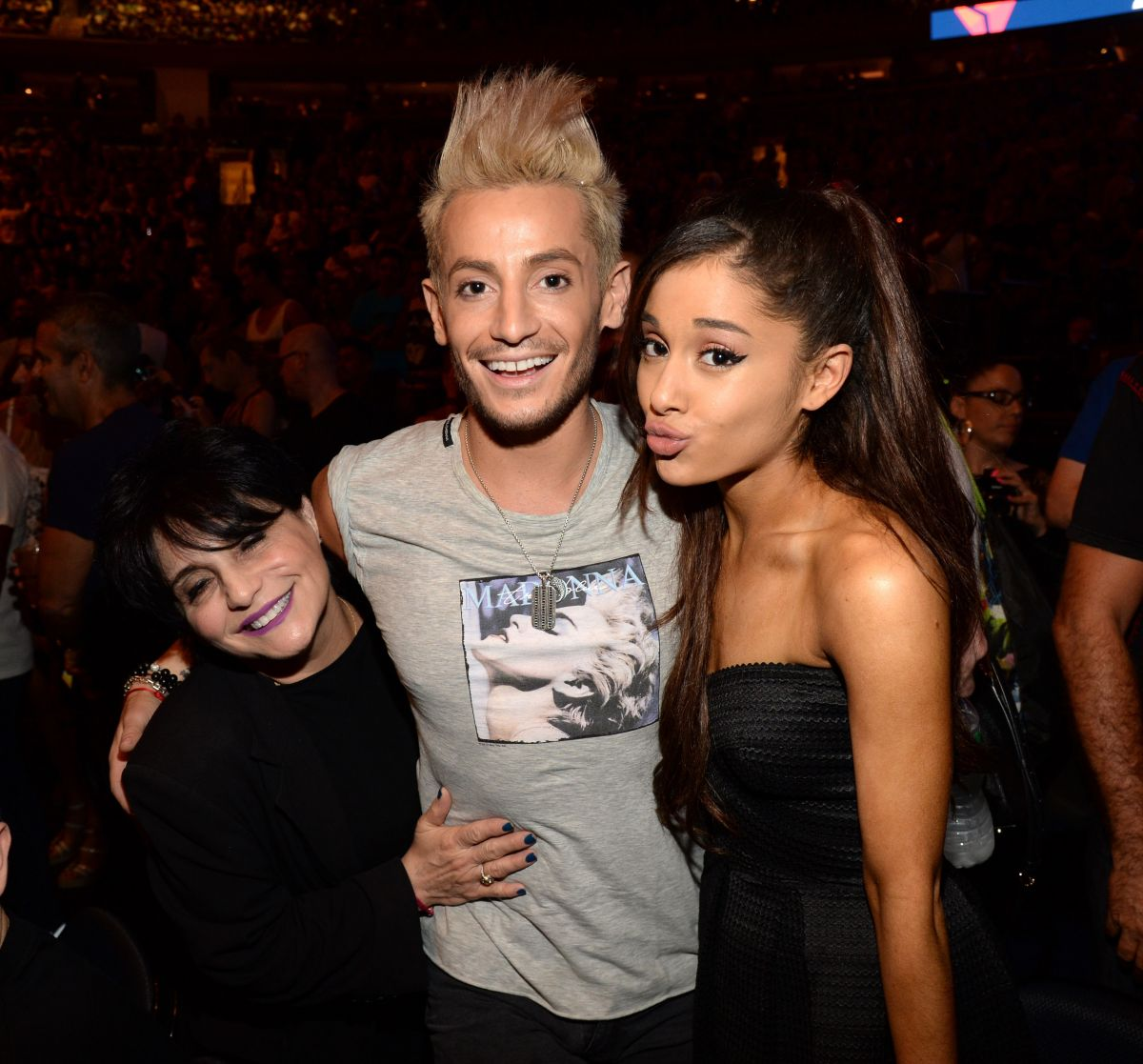 ARIANA GRANDE At Madonna Concert At Madison Square Garden 09/16/2015