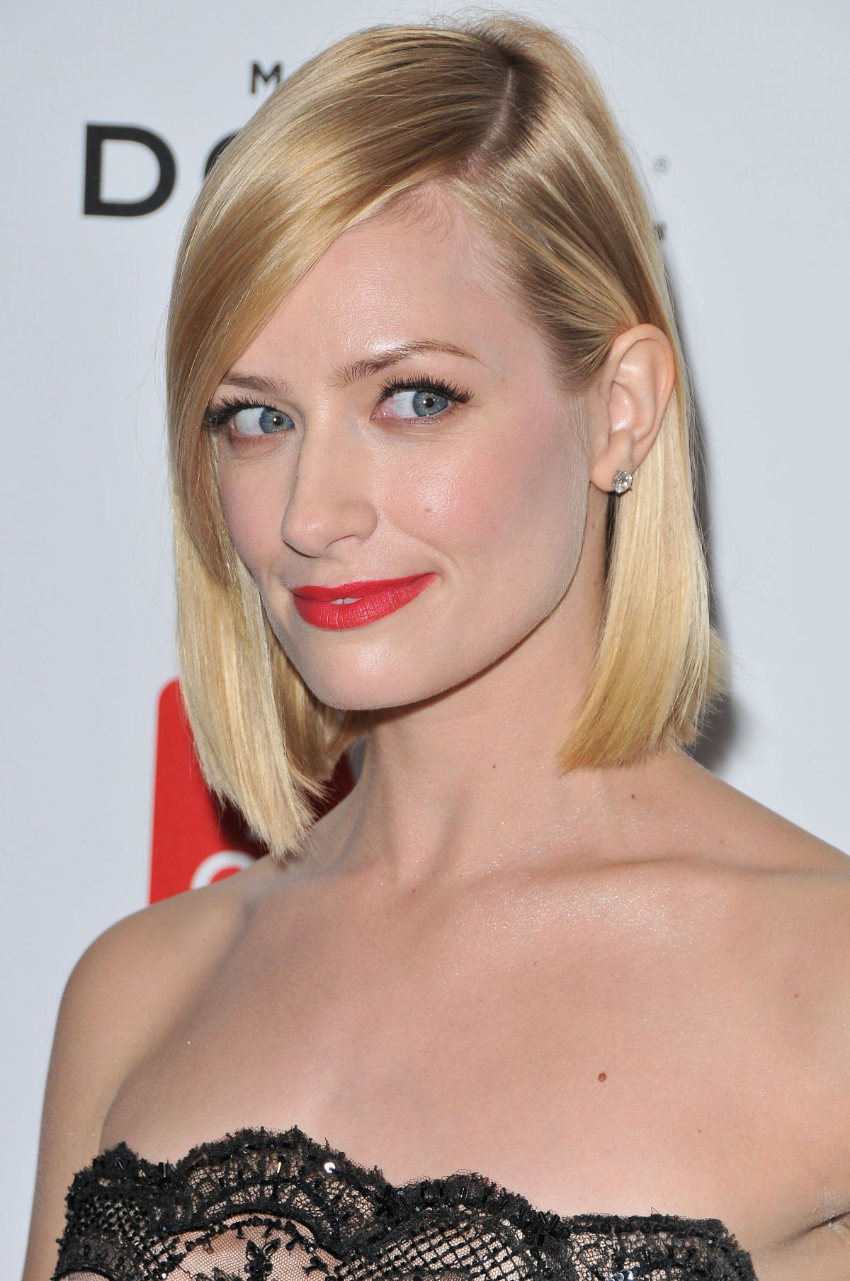 BETH BEHRS at 2012 CBS Upfront in New York - HawtCelebs