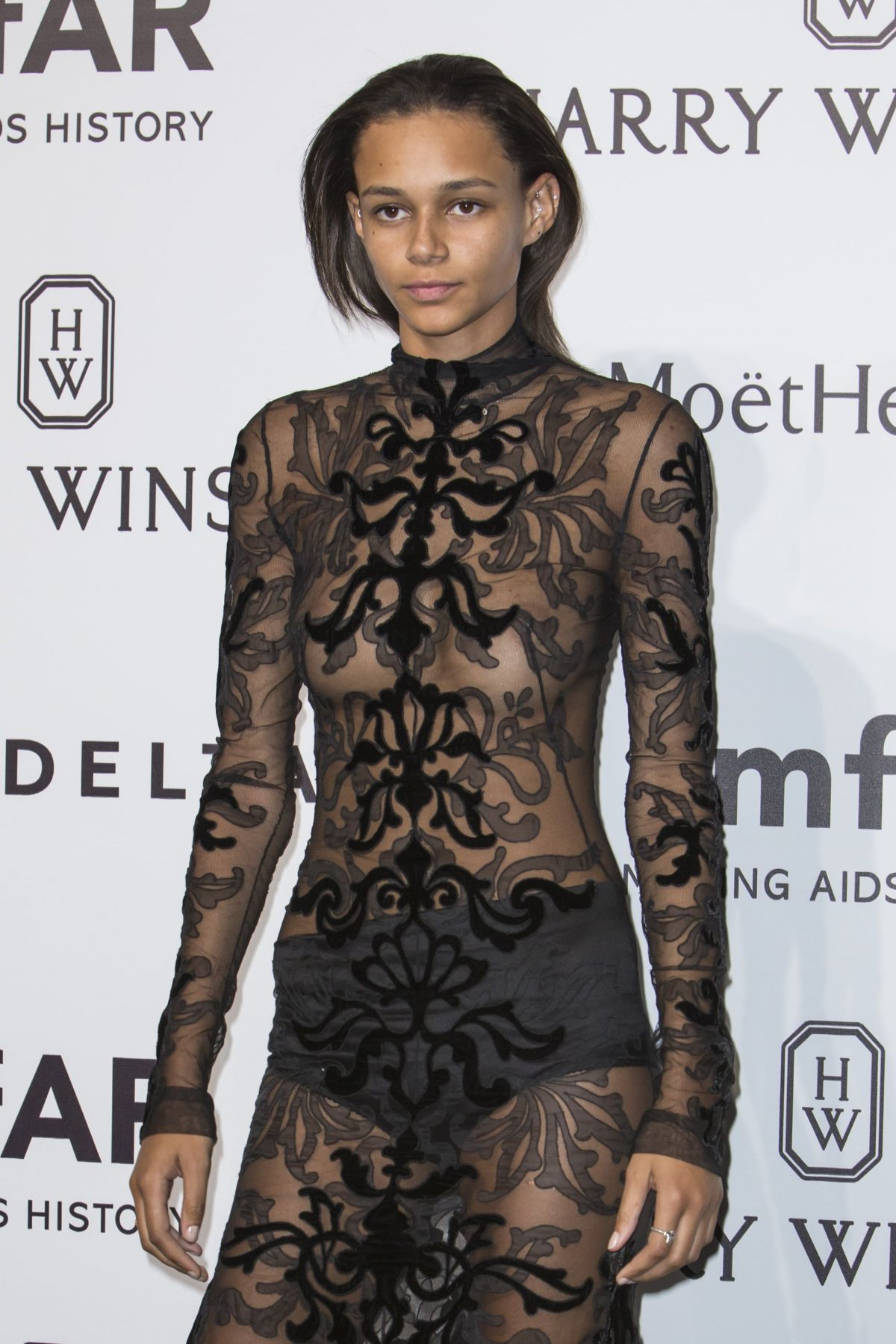 BINX WALTON at amfAR Gala in Milan 09/26/2015