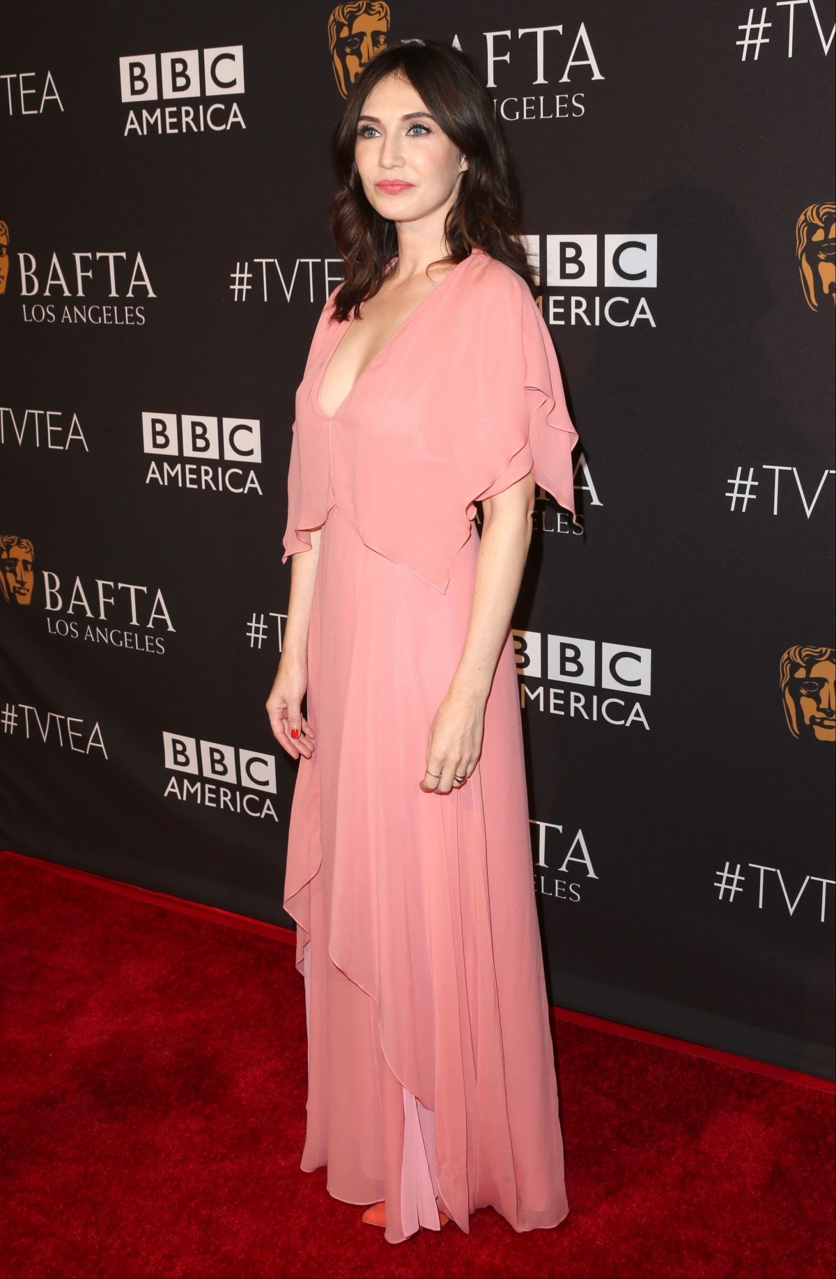 CARICE VAN HOUTEN at 2015 Bafta Los Angeles TV Tea in Beverly Hills 09/19/2015