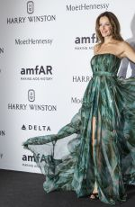 CAROLINA PARSONS at amfAR Gala in Milan 09/26/2015