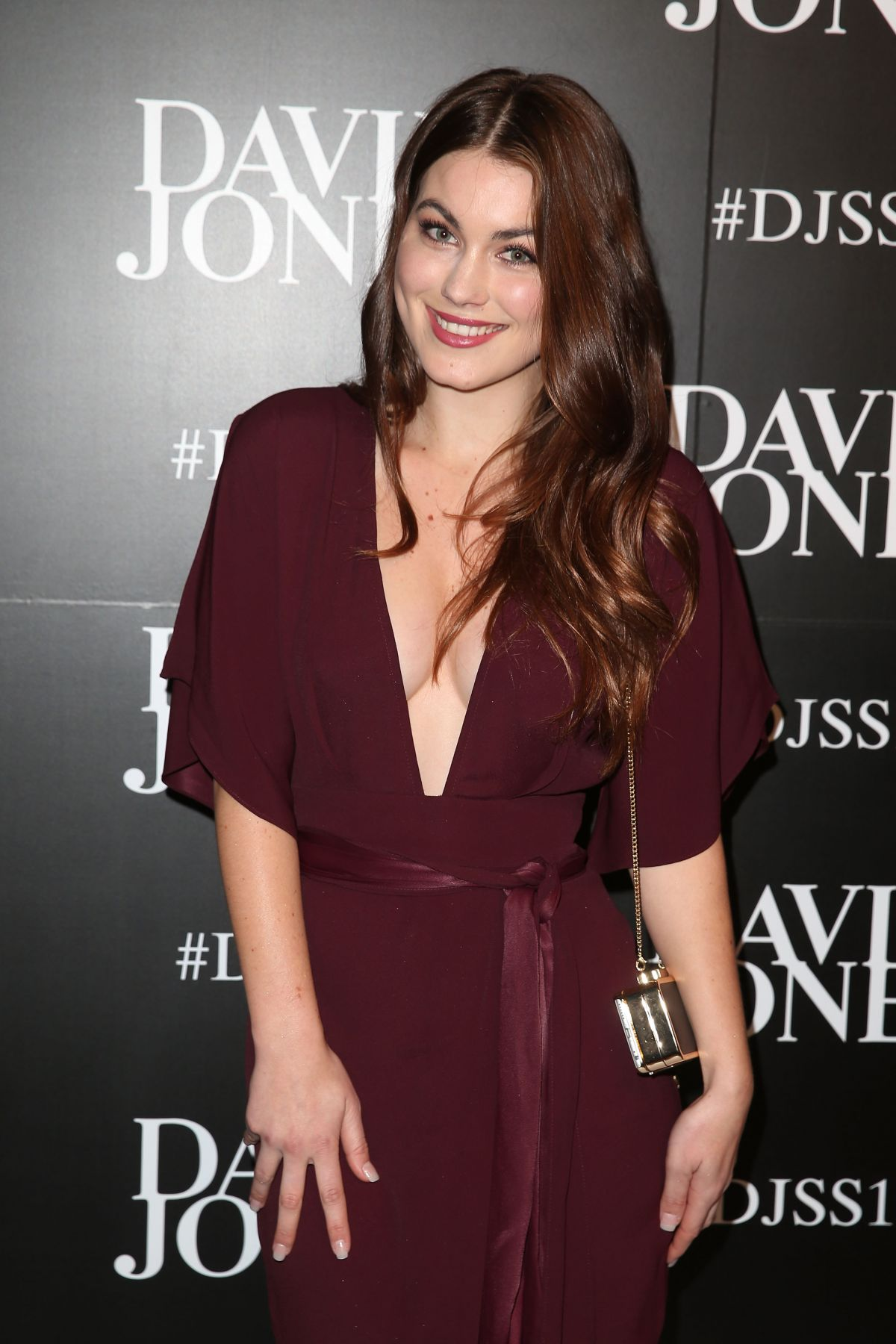 CHARLOTTE BEST at Ddavid Jones Spring/Summer 2015 Fashion Launch in Sydney