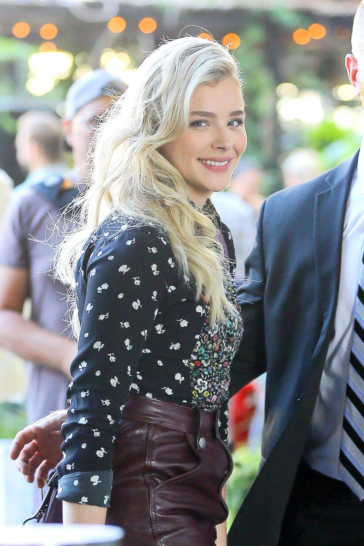 CHLOE MORETZ at The Coach Fashion Show in New York 09//15 ...