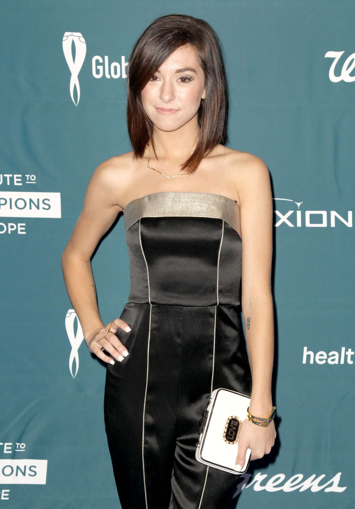 CHRISTINA GRIMMIE at 4th Annual Rare Tribute to Champions of Hope Gala in Huntington Beach 09/26/2015