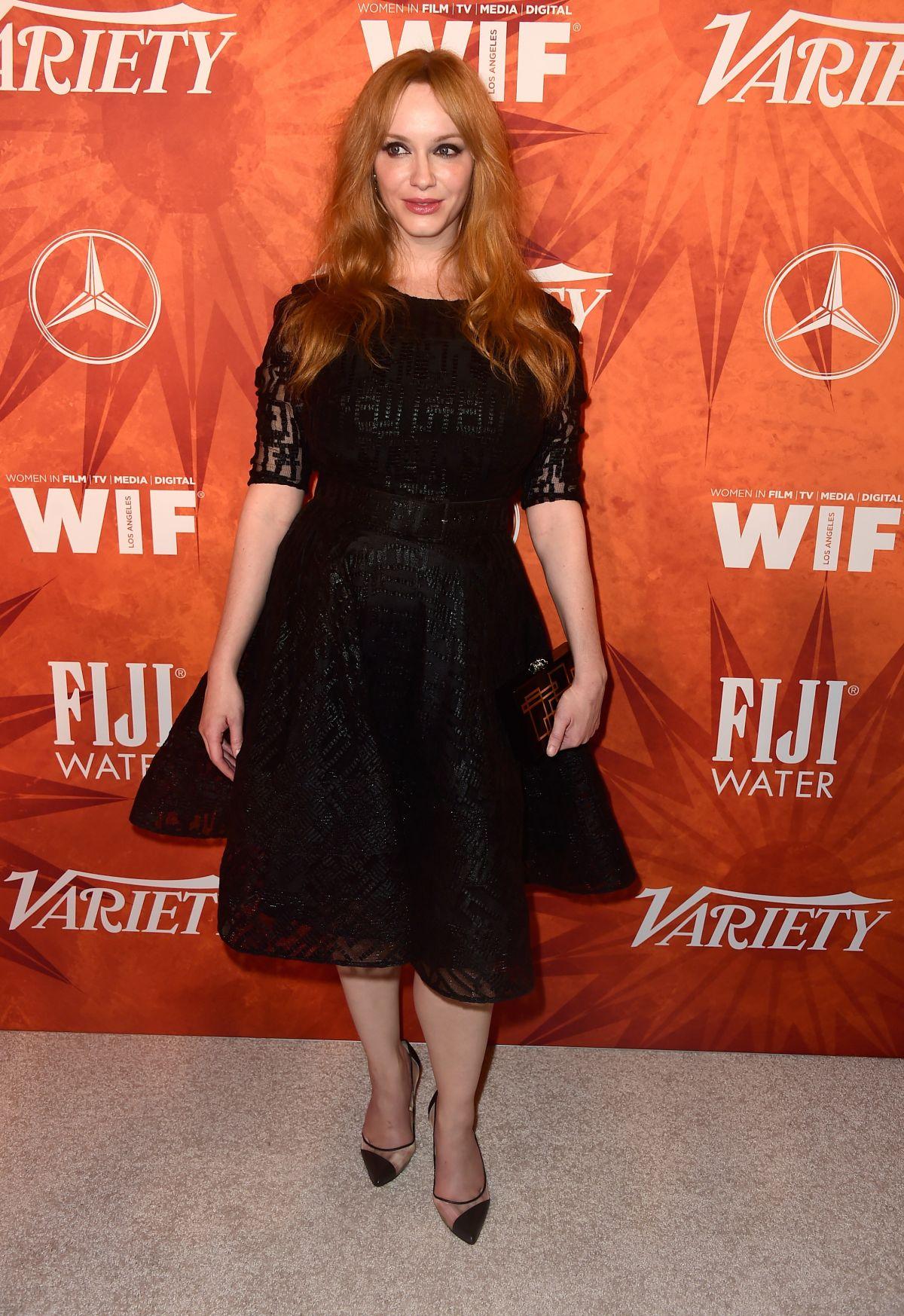 CHRISTINA HENDRICKS at Variety and Women in Film Annual ...