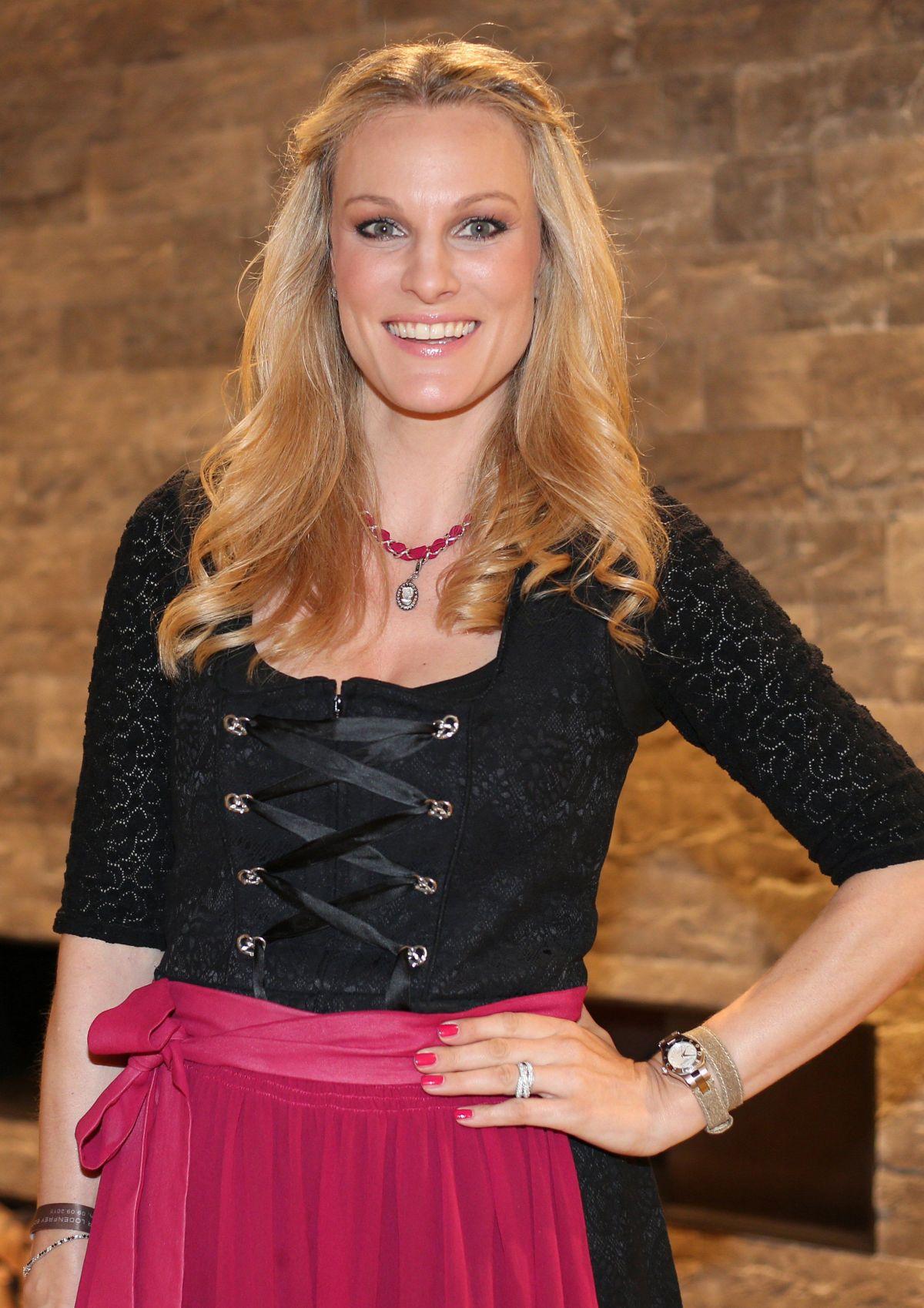 CHRISTINA SURER at Lodenfrey and Baume & Mercier Host Cocktail Reception in Munchen 09/09/2015