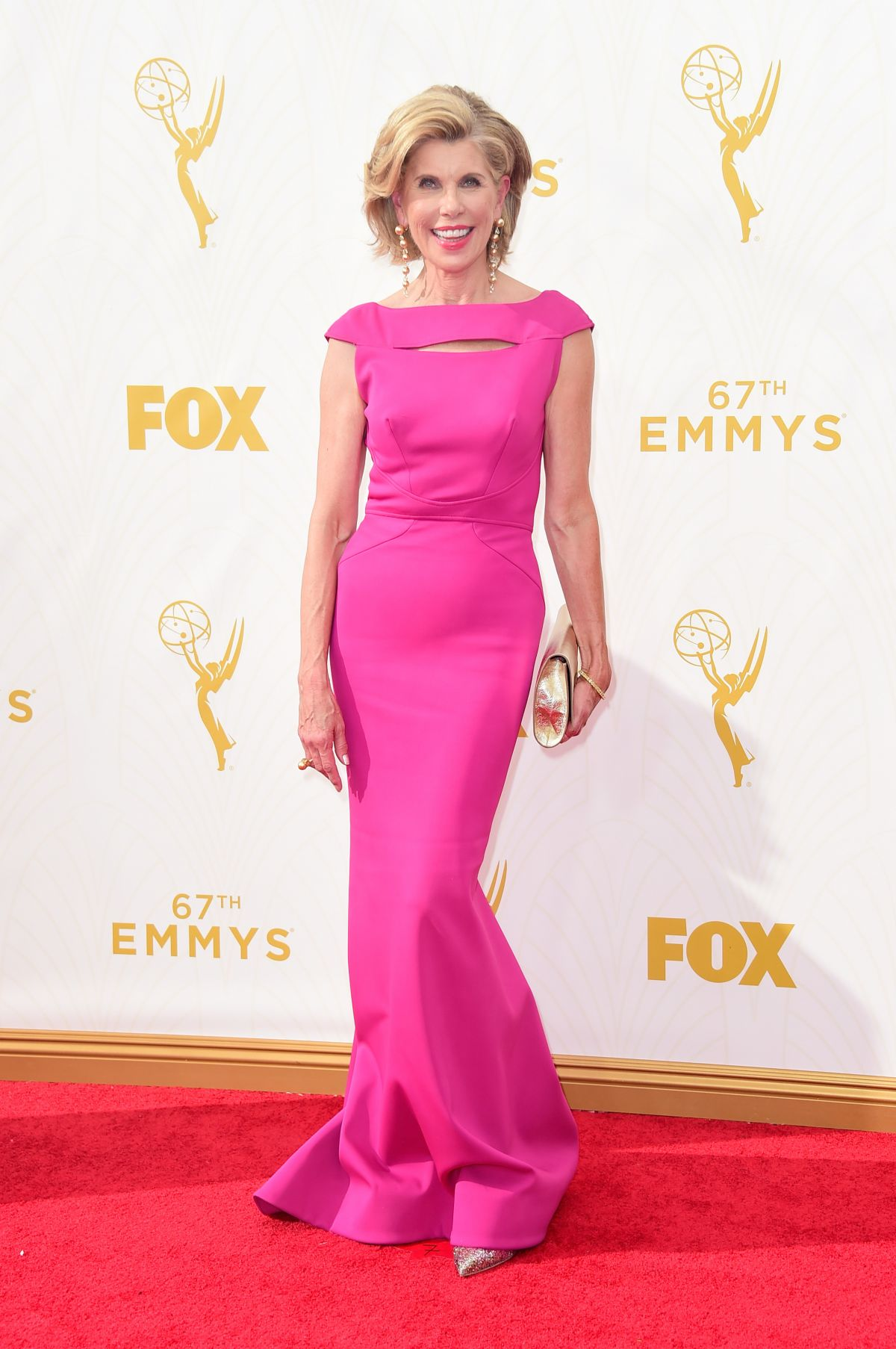 CHRISTINE BARANSKI at 2015 Emmy Awards in Los Angeles 09/20/2015