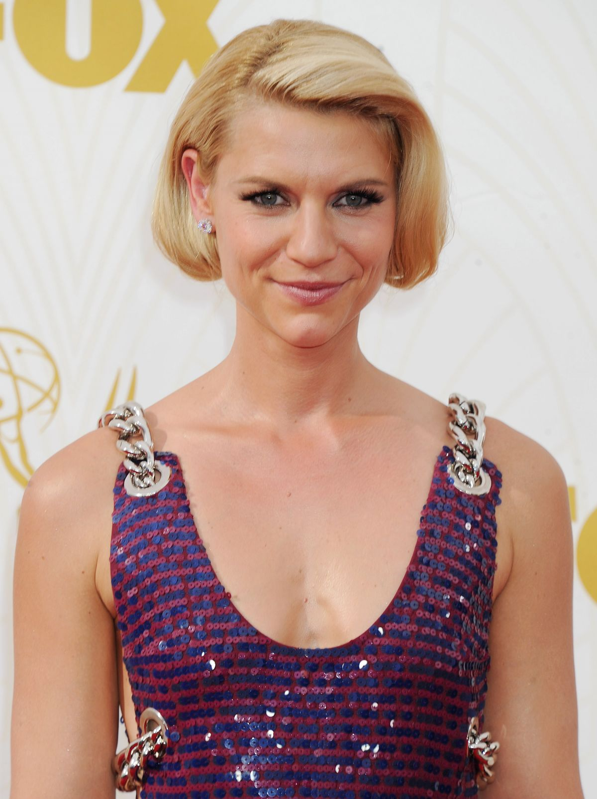 CLAIRE DANES at 2015 Emmy Awards in Los Angeles 09/20/2015 ... Claire Danes