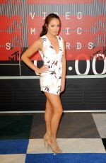 CLAUDIA SULEWSKI at MTV Video Music Awards 2015 in Los Angeles