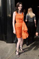 COCO ROCHA at Jeremy Scott Fashion Show in New York 09/14/2015