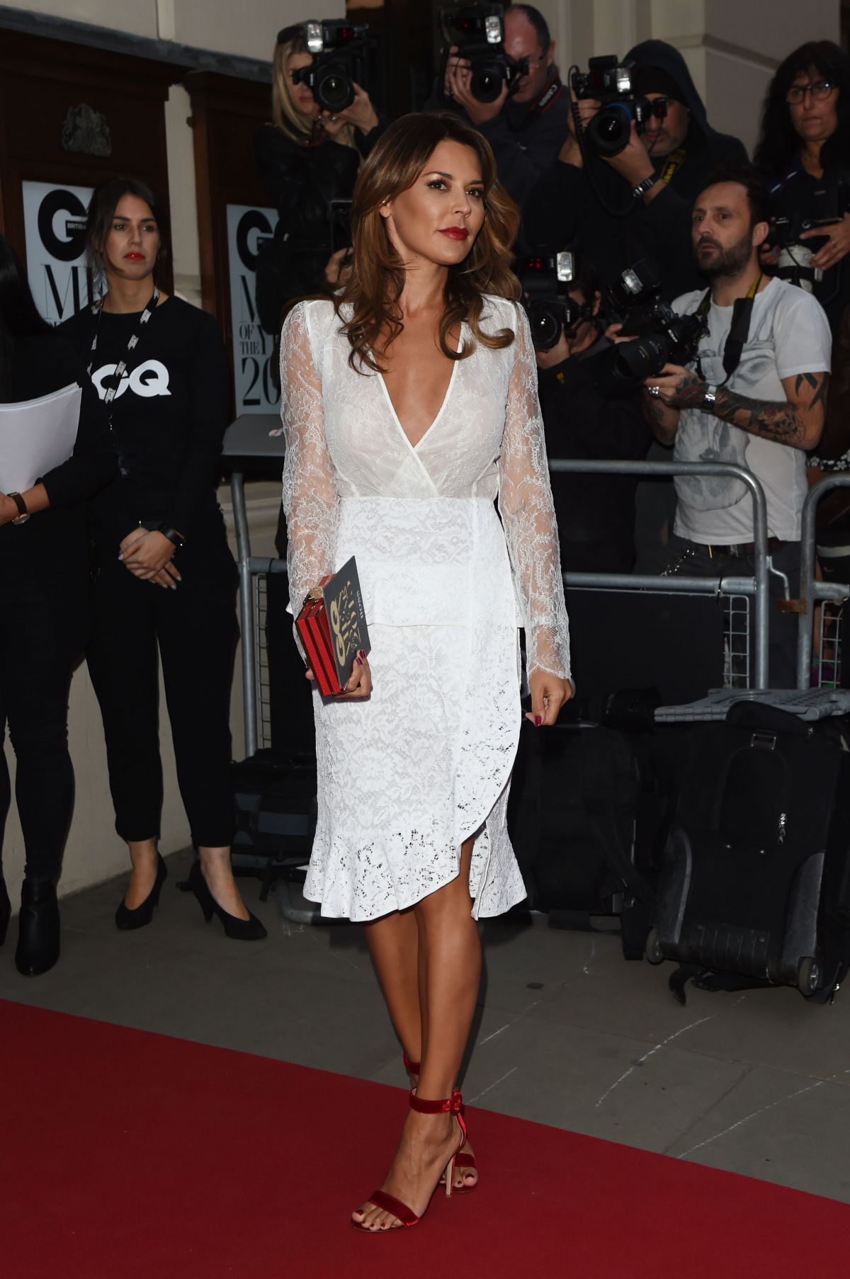 DANIELLE LINEKER at GQ Men of the Year 2015 Awards in London ...