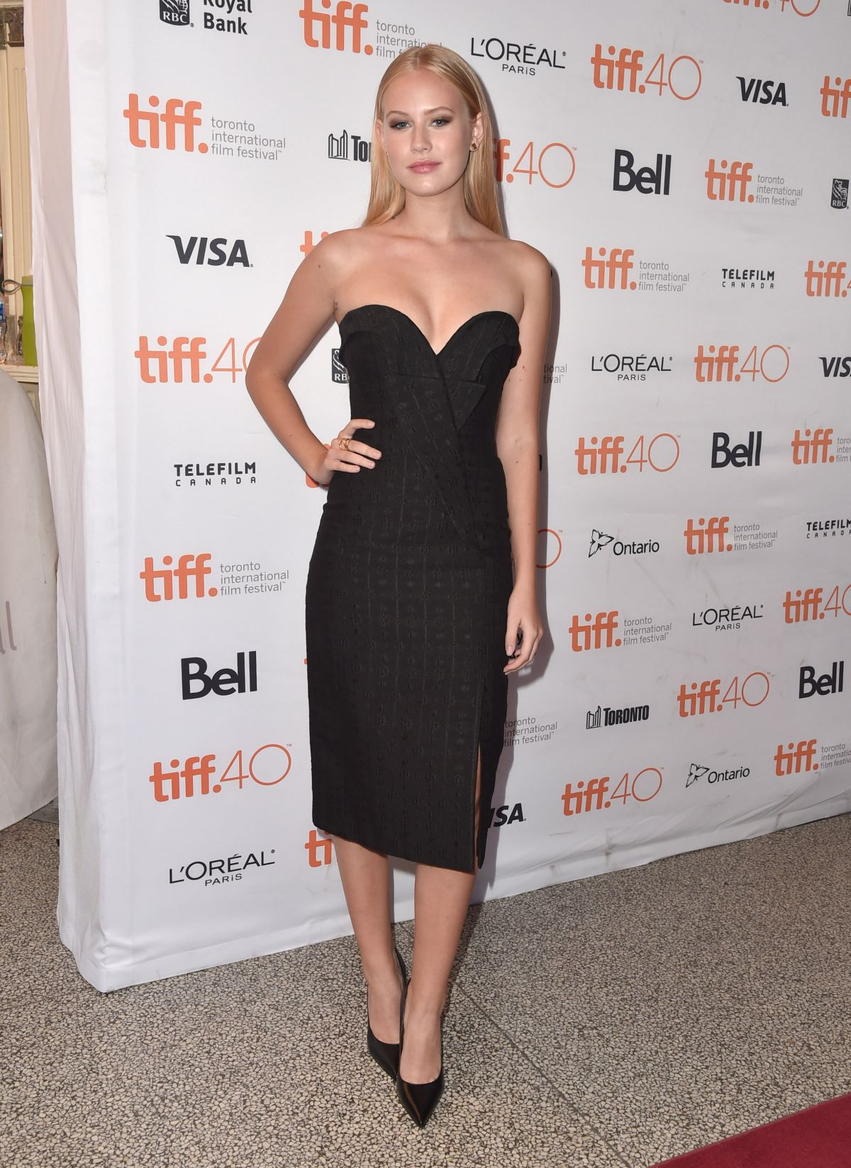 DANIKA YAROSH at Heroes Reborn Premiere at 2015 Toronto International Film Festival 09/15/2015