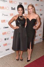 DANIKA YAROSH at Heroes Reborn Premiere at 2015 Toronto International Film Festival 09/15/2015