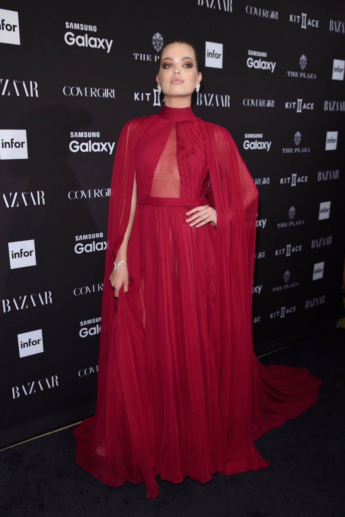 DAPHNE GROENEVELD at 2015 Harper's Bazaar Icons Event in New York 09/16/2015