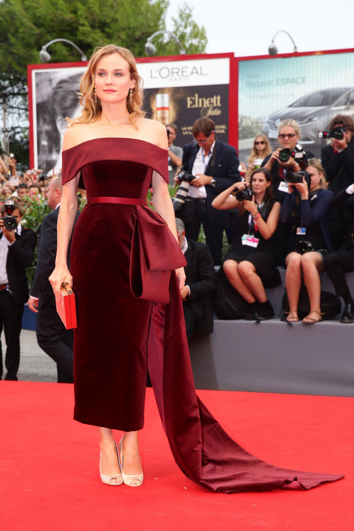 DIANE KRUGER at Black Mass Premiere at 72nd Venice Film Festival