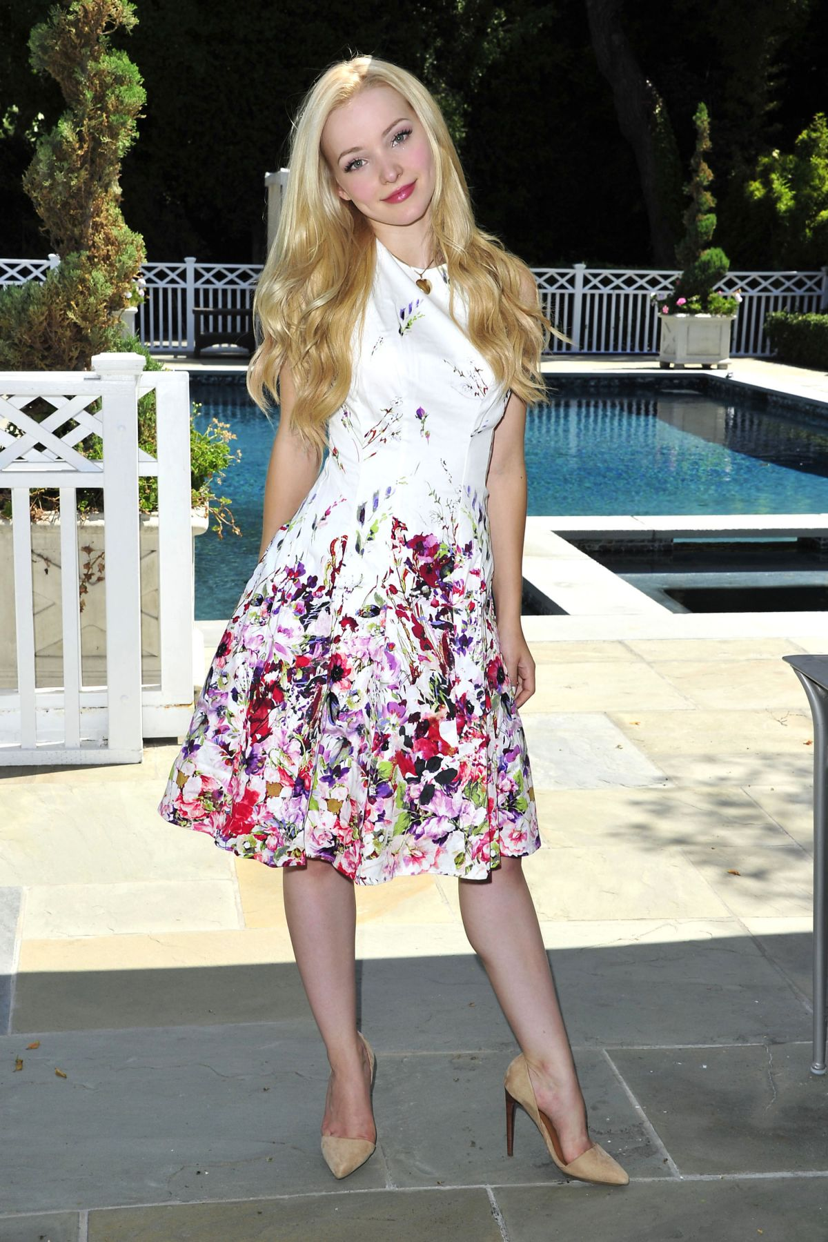 DOVE CAMERON on the Set of a Photoshoot in Beverly Hills 08/25/2015