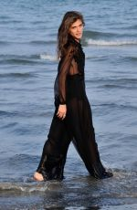 ELISA SEDNAOUI at a Photocall at 72nd Venice Film Festival 09/01/2015