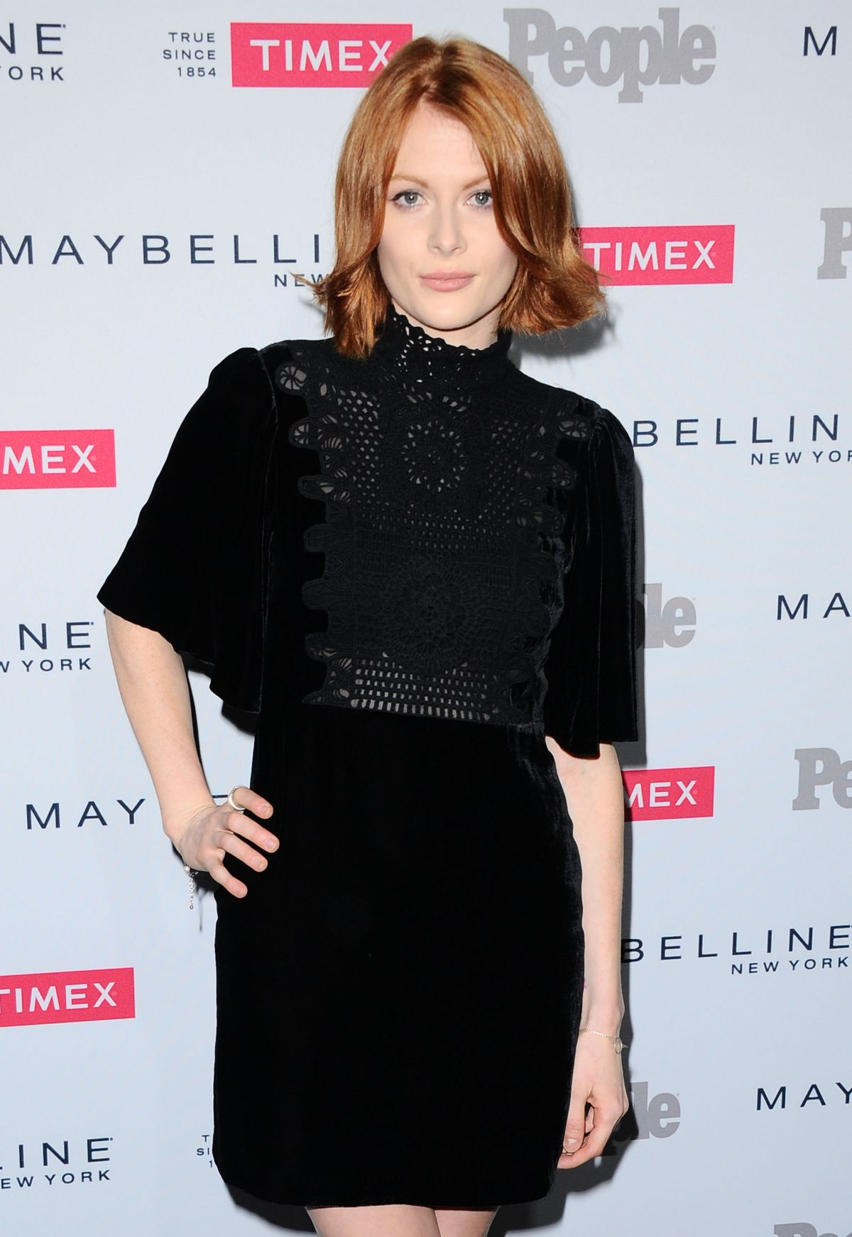 EMILY BEECHAM at People's To Watch in West Hollywood 09/16/2015